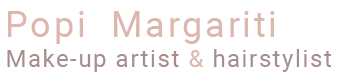 Popi Margariti :: Make-up Artist & Hairstylist Logo