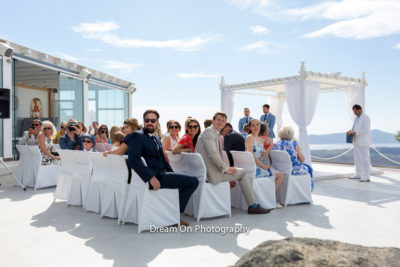 Wedding stories Santorini